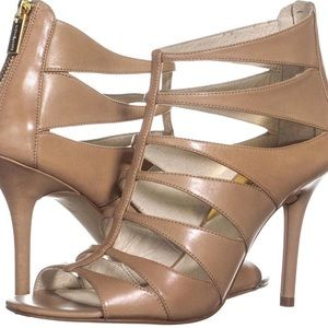 NEW Michael Kors Mavis open Toe Evening Sandals